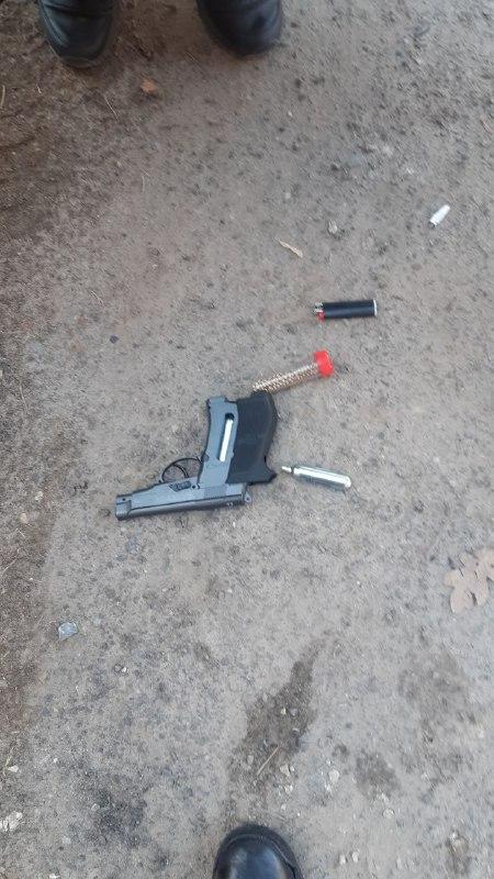 На Чорновола чоловік з пістолета стріляв у собак, його затримала поліція – очевидці (ФОТО, ОНОВЛЕНО)