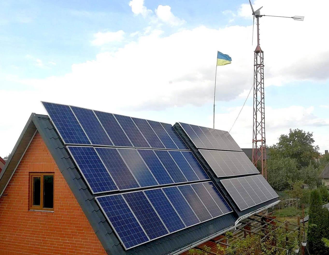Скільки родин на Прикарпатті встановили сонячні панелі на своїх будинках