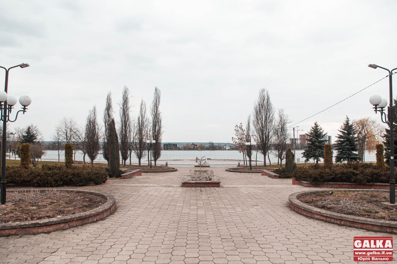 Територію міського озера збільшать за рахунок затоплення парку Шевченка