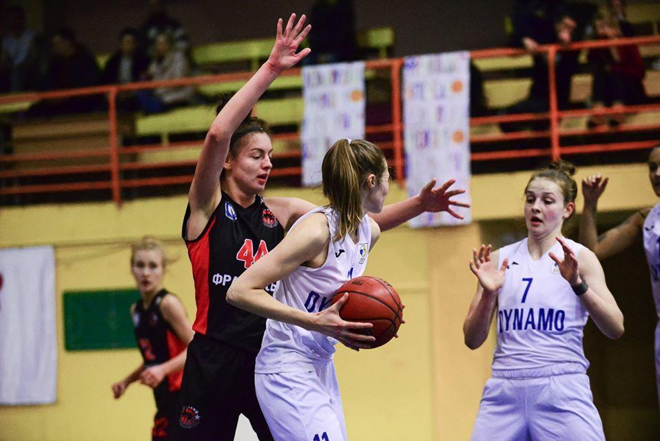 Жіноча Суперліга: франківські баскетболістки обіграли чинного чемпіона (ФОТО)