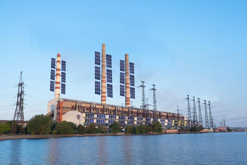 Бурштинська ТЕС переходить на вироблення сонячної електроенергії