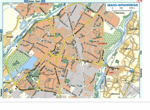 Карта туристичних принад з'явиться у Франківська