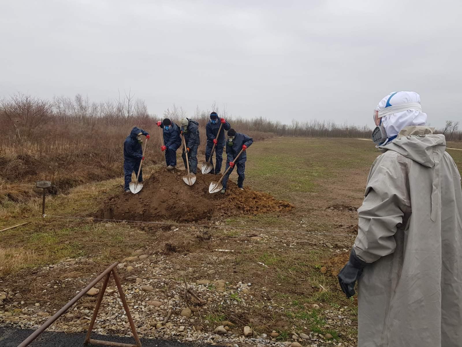 У Чукалівці поховали жінку, яка померла від COVID-19