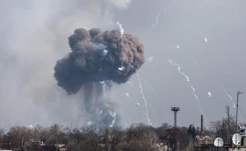 Арсенал у Балаклії підірвали закладеною в багатьох місцях вибухівкою – ТСК