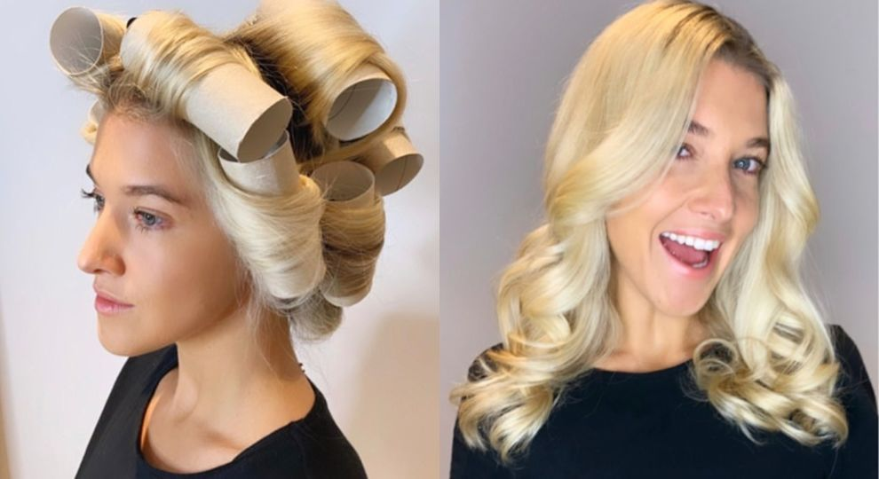 Британський перукар показав лайфхак з накручування волосся на втулку від туалетного паперу (ВІДЕО)