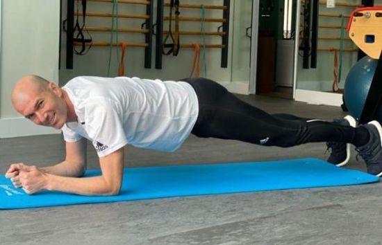 Зідан показав вправи, які допоможуть залишатися у формі на карантині (ФОТО)