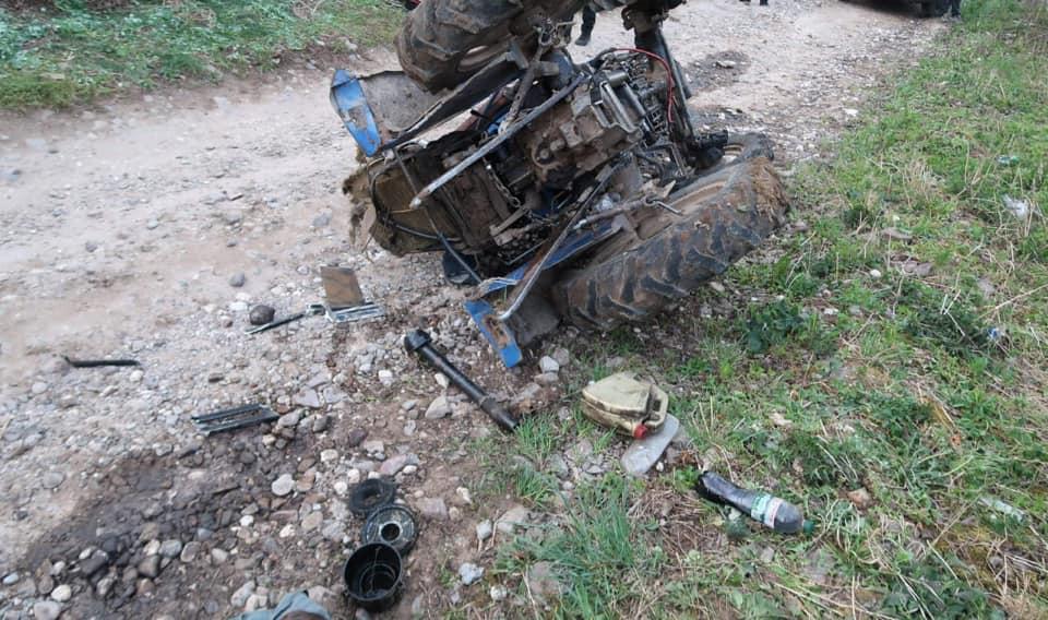 На Городенківщині перекинувся трактор – водій загинув (ФОТОФАКТ)