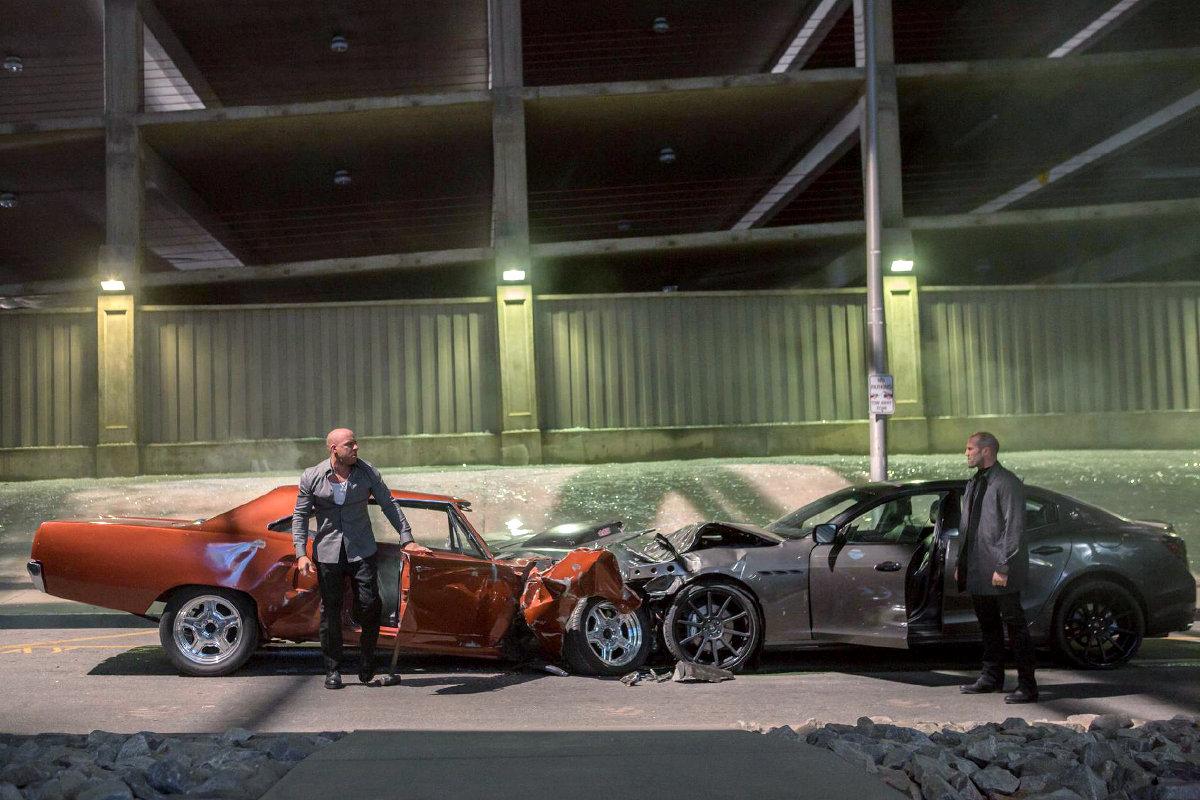 Підраховано кількість автомобілів, розбитих у «Форсажах»