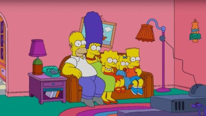 Канадська сім'я на карантині зняла пародію на заставку «Сімпсонів»