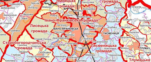 Уряд затвердив нову редакцію перспективного плану Івано-Франківщини (КАРТА)