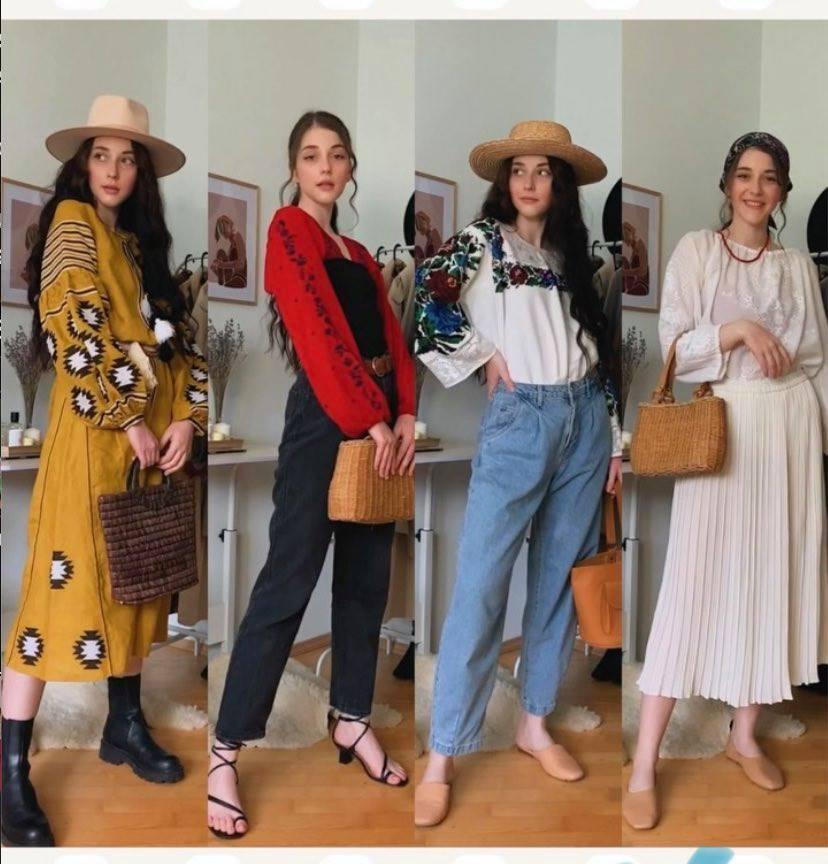 Франківська блогерка показала, як виглядати стильно у вишиванці (ВІДЕО)