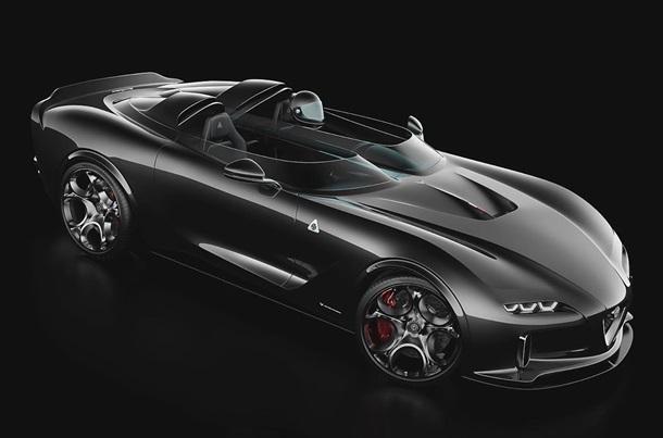 У мережі показали ескізи іміджевої дводверної Alfa Romeo (ФОТО)