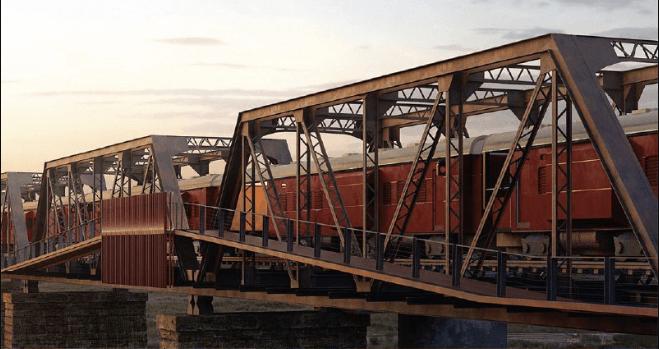 В Африці будують готель у вагонах потягу посеред закинутого мосту (ФОТО)