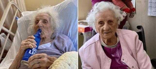 103-річна американка відсвяткувала перемогу над коронавірусом пляшечкою пива