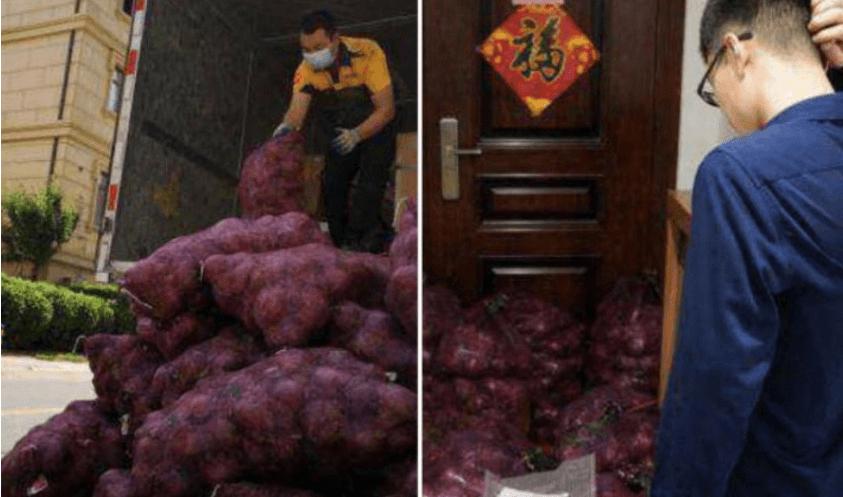 Я поплакала, а тепер – ти: у Китаї дівчина надіслала колишньому тонну цибулі