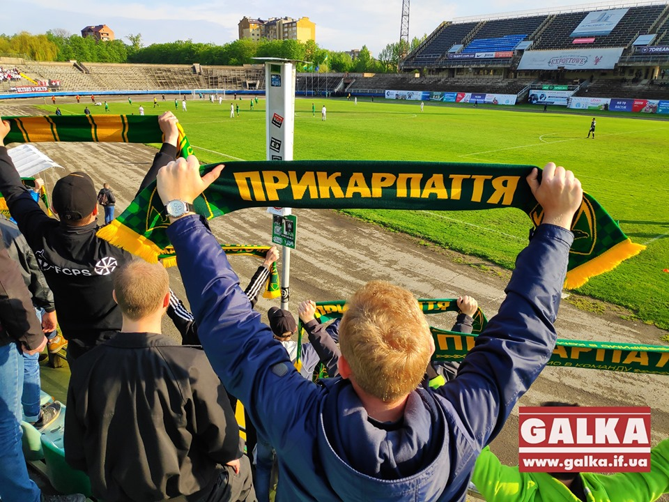 """Футболісти """"Прикарпаття"""" завершили сезон яскравою виїзною перемогою (ВІДЕО)"""