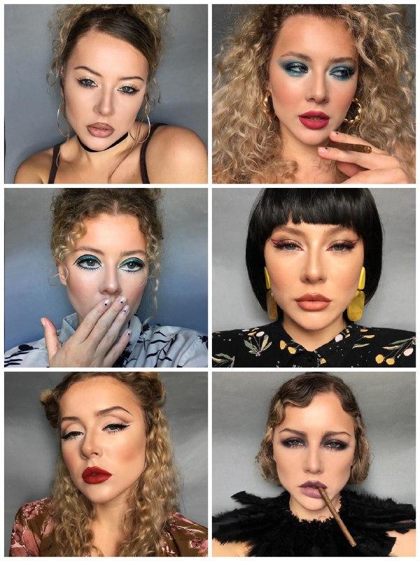 Франківська візажистка відтворює макіяж у стилі різних епох (ФОТО)