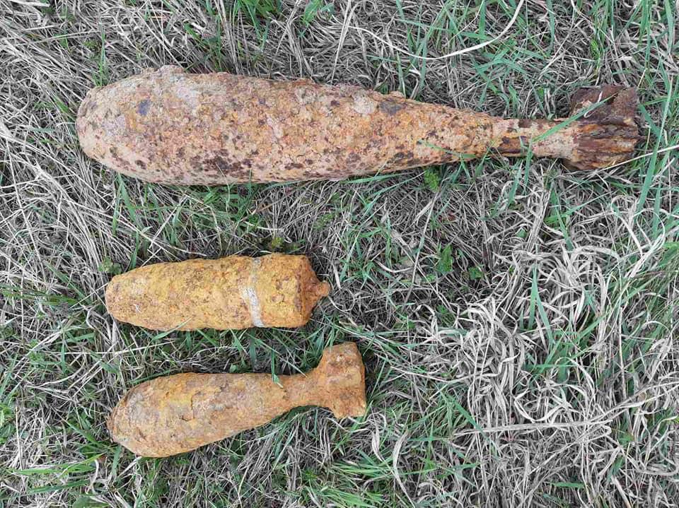 Чергову порцію застарілих боєприпасів знайшли в селі на Коломийщині