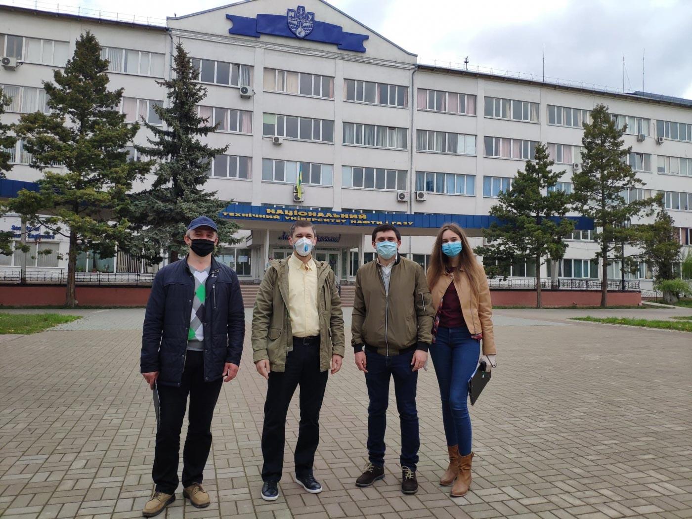 Корпуси та гуртожиток університету нафти й газу хочуть утеплити (ФОТО)