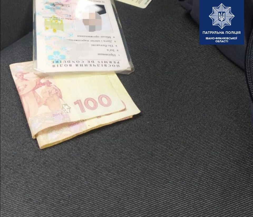 У суботу двоє водіїв-порушників хотіли відкупитися від патрульних за 200 гривень