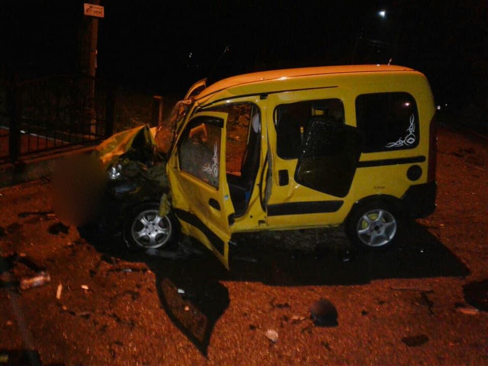 На Калущині у лобовому зіткненні двох авто травмувалася водійка (ФОТО)