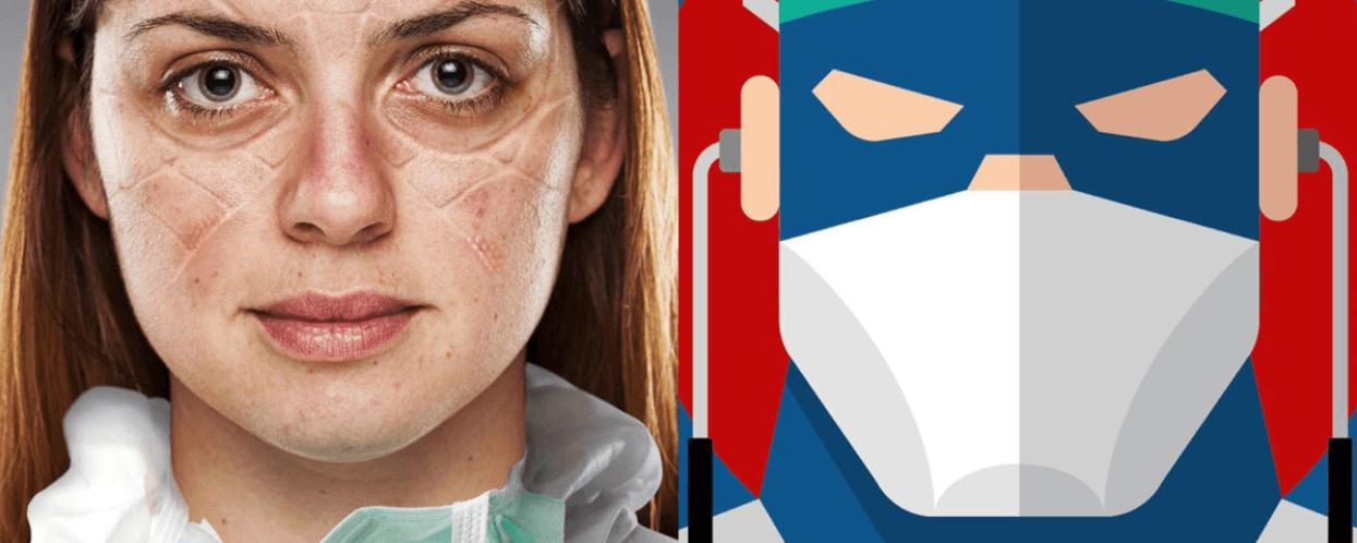 Лікарі стали супергероями у новій кампанії (ФОТО)