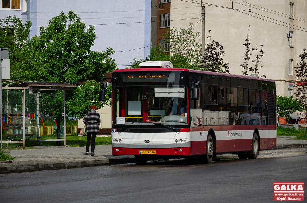 Як працюватиме комунальний транспорт Франківська під час перекриття у неділю