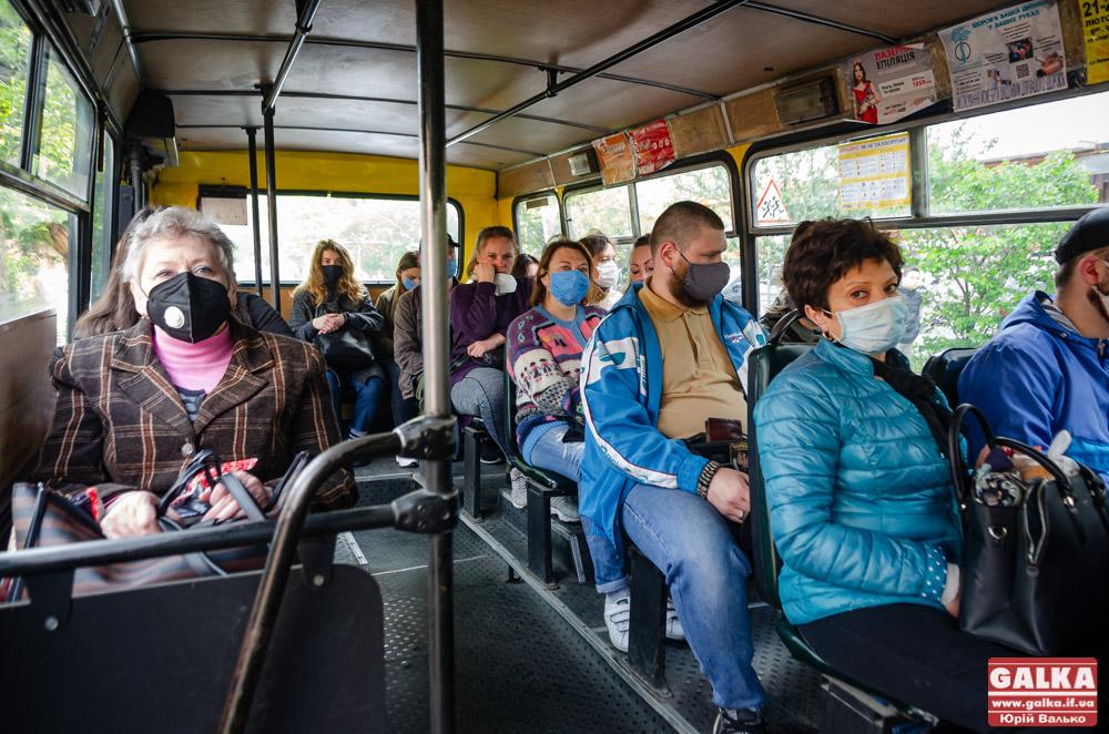 Щастить пасажирам на кінцевих: у Франківську розширили роботу громадського транспорту (ФОТО)
