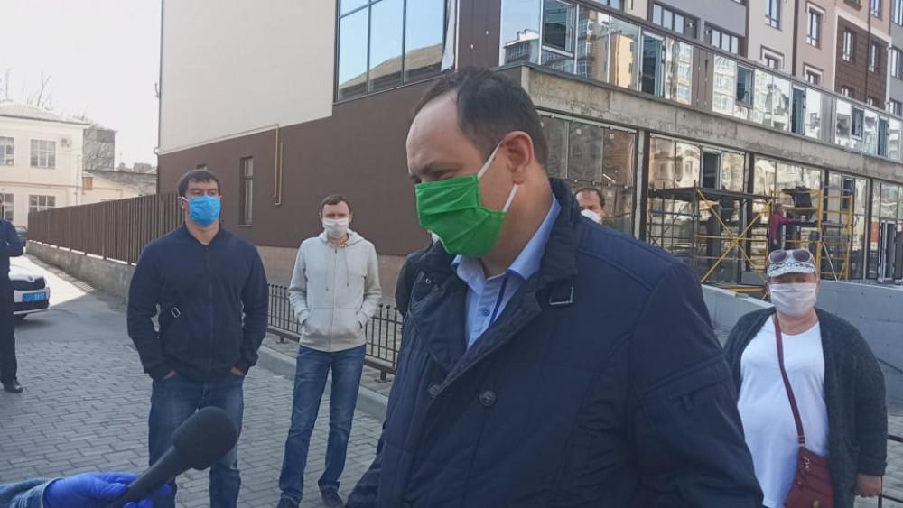 Марцінківа допитали у справах про дискримінацію ромів та роботу ринків у карантин
