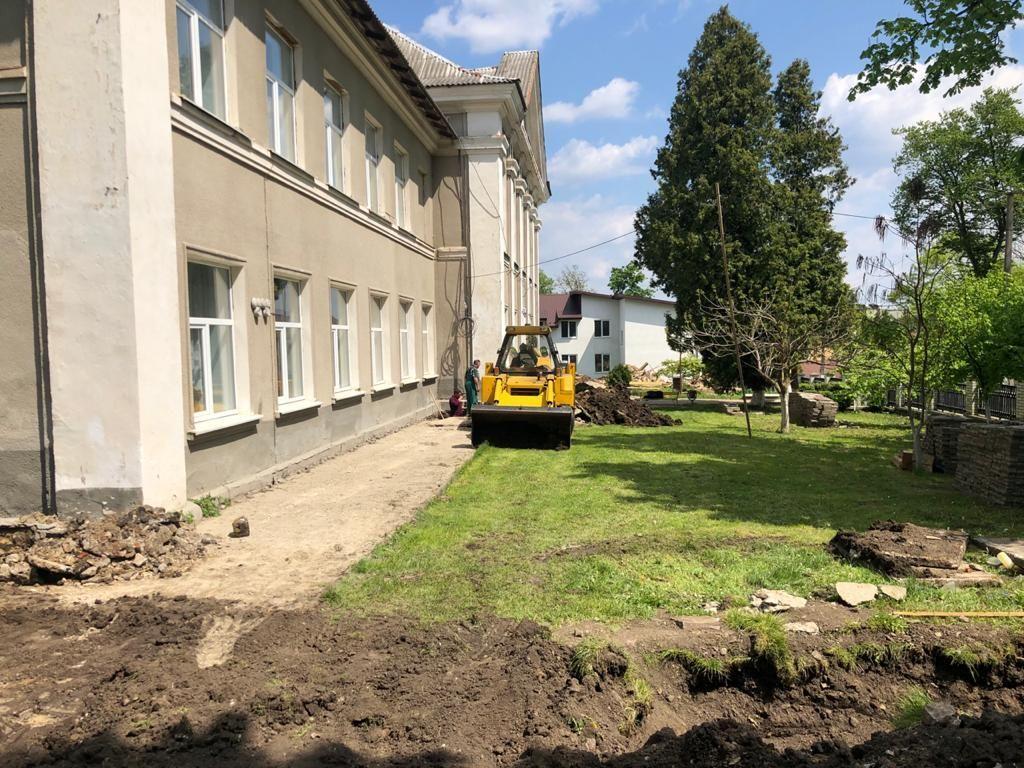 У Городенці капітально ремонтують школу (ФОТО)
