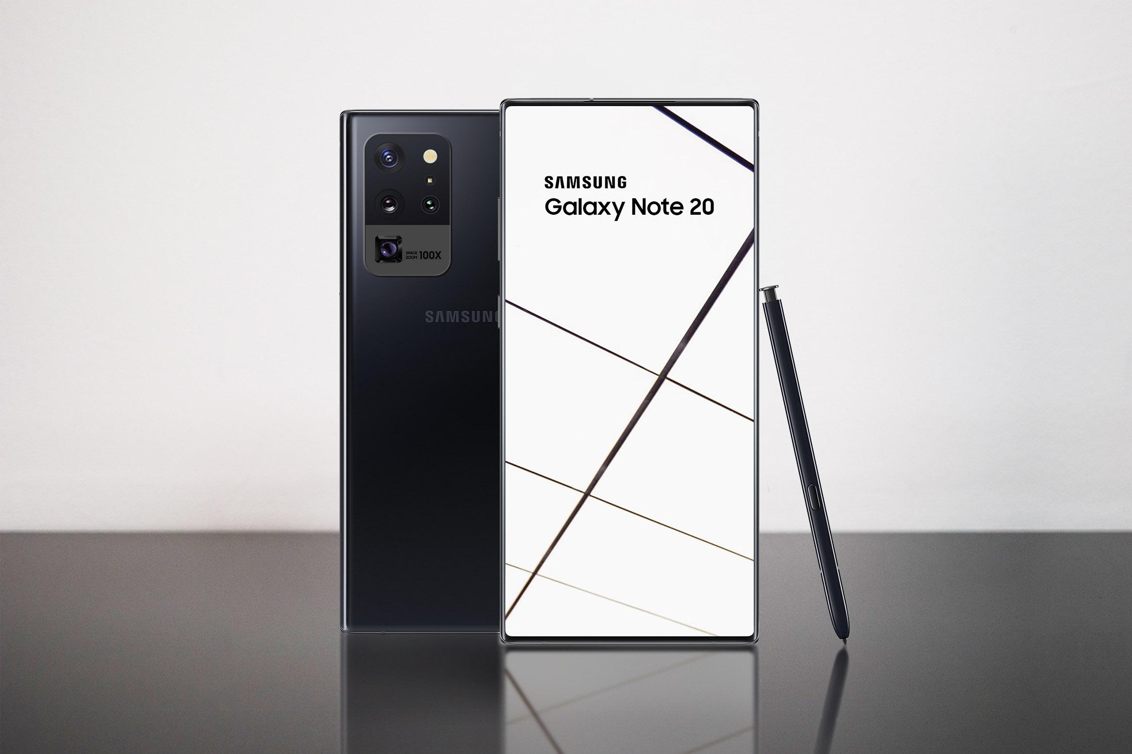 До мережі потрапили характеристики нової лінійки Samsung Galaxy Note 20 (ВІДЕО)