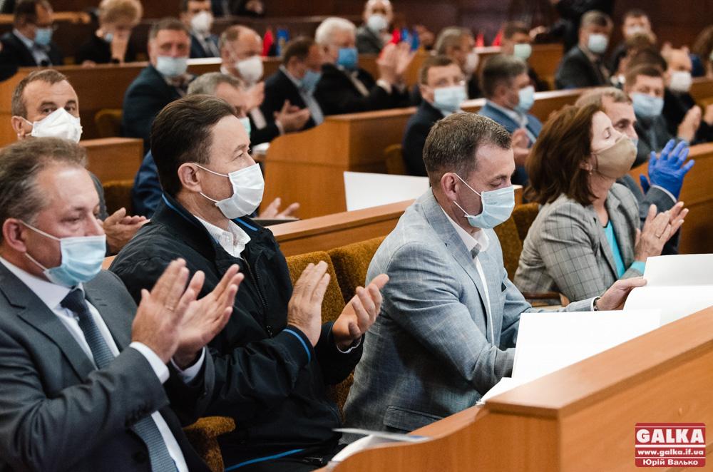 Івано-Франківська обласна рада – перше засідання під час карантину (ФОТОРЕПОРТАЖ)