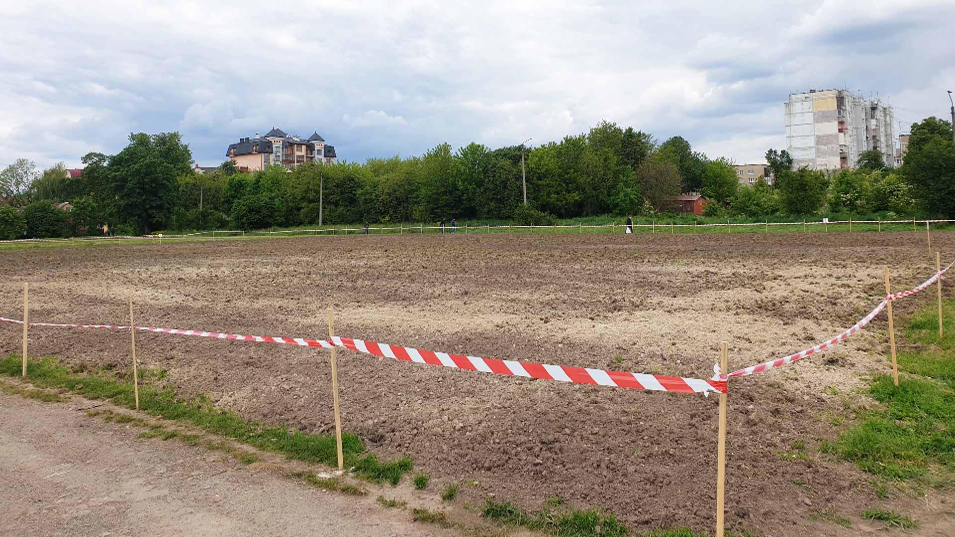 Ще одне футбольне поле з'явиться цьогоріч у Коломиї (ВІДЕО)