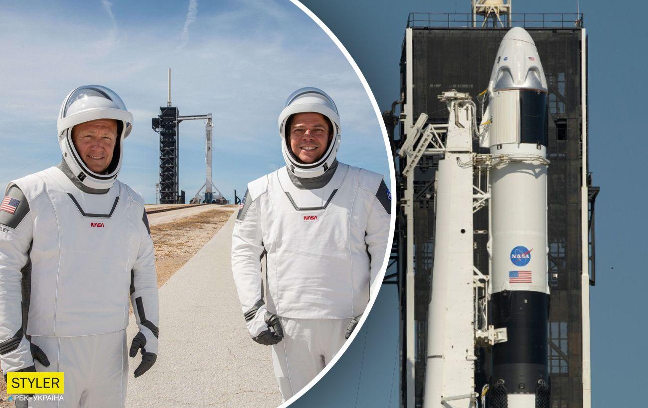 Екіпаж Crew Dragon не полетів у космос. NASA повідомила нову дату старту (ВІДЕО)