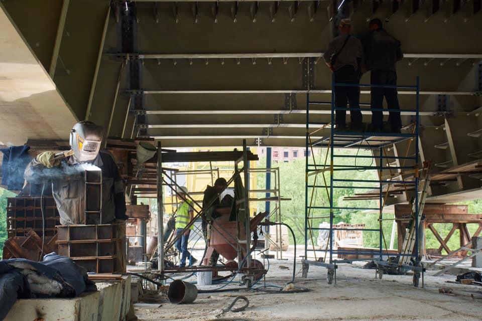 Плануємо добудувати міст на Пасічну цьогоріч, – Марцінків (ФОТО)