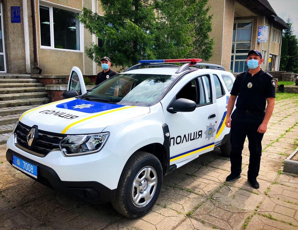 Новий позашляховик отримали поліціянти Ланчинської ОТГ (ФОТО)