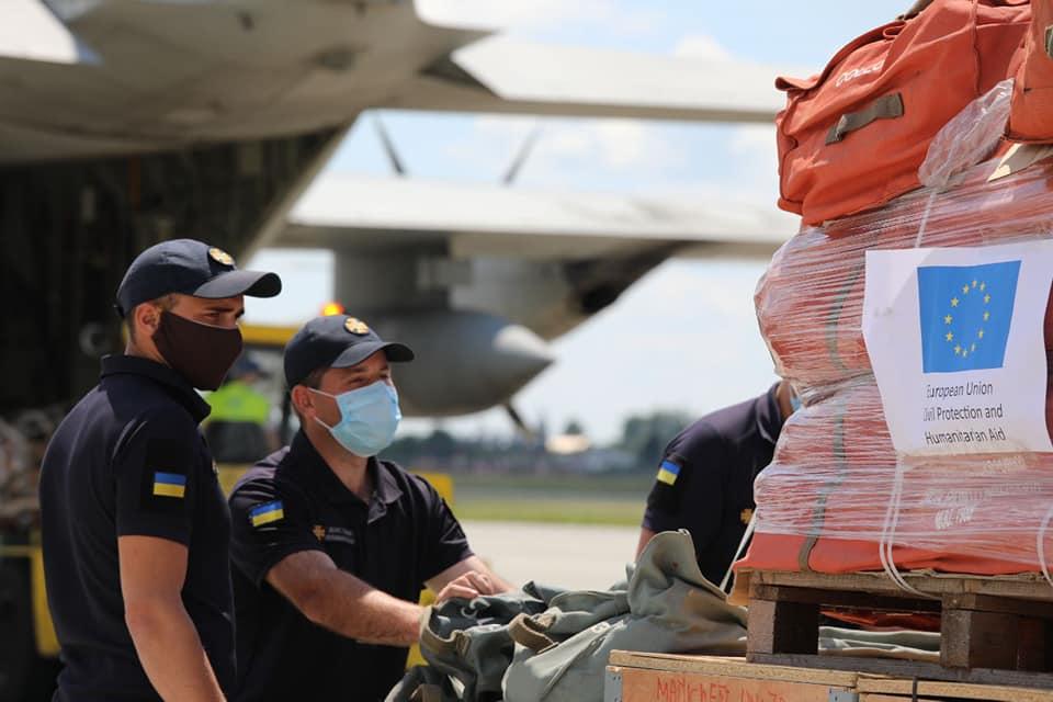 Гуманітарну допомогу передали італійці для постраждалого від негоди Прикарпаття (ФОТО)