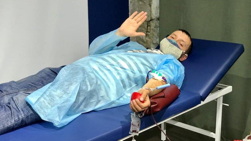 На донорській акції франківці здали 19 літрів крові за день (ФОТО)