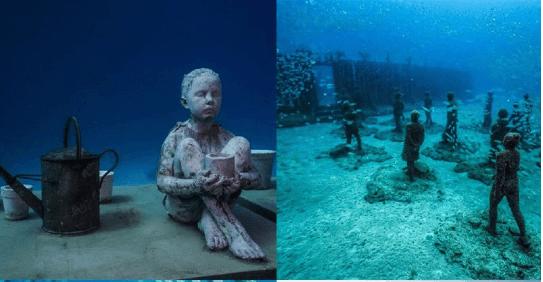Мистецтво підводного світу: в Австралії з'явився музей всередині Великого бар'єрного рифу
