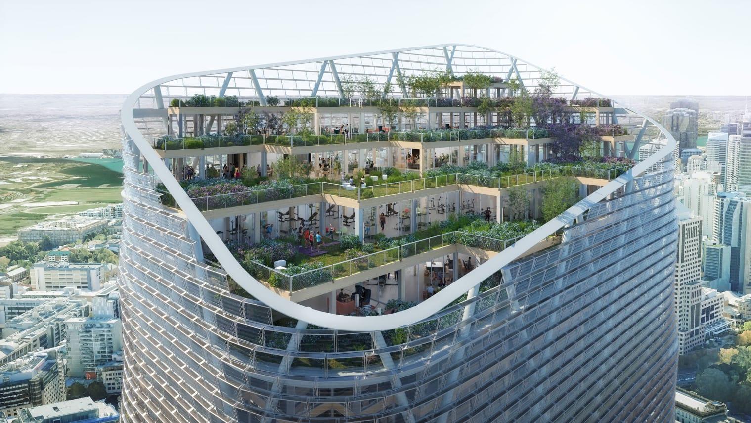 У Сіднеї побудують найвищий у світі «зелений» хмарочос з гібридної деревини
