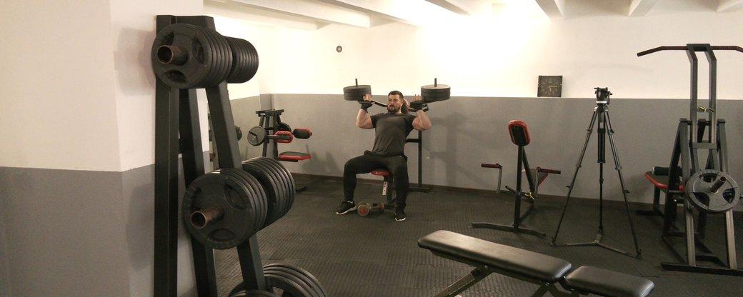 Коломийські атовці майструють тренажери для власного спортзалу (ФОТО, ВІДЕО)