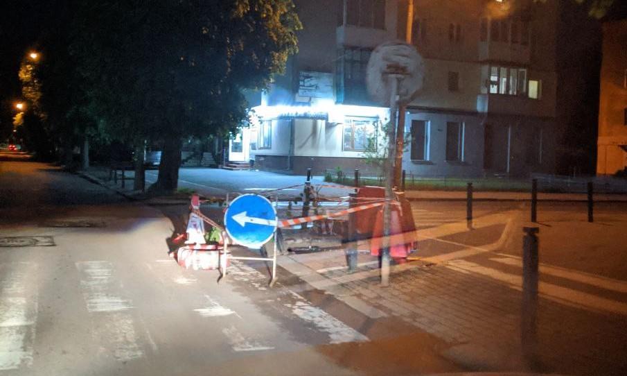Мешканці трьох вулиць залишилися без води через аварію (ФОТОФАКТ)