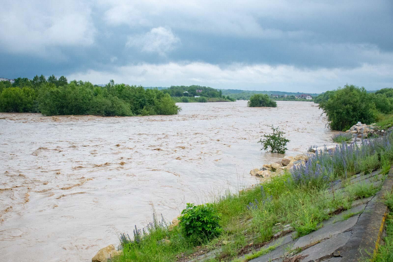 Наслідки негоди: на 9 річкових об'єктах проведуть ремонті роботи на 50 мільйонів гривень