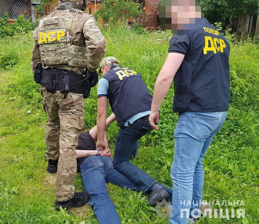 В Яремче затримали кілера (ФОТО)