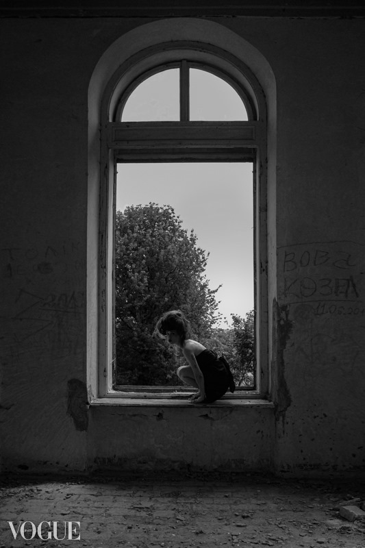 З першої спроби. Світлини франківської фотографині опублікували в італійському VOGUE (ФОТО)