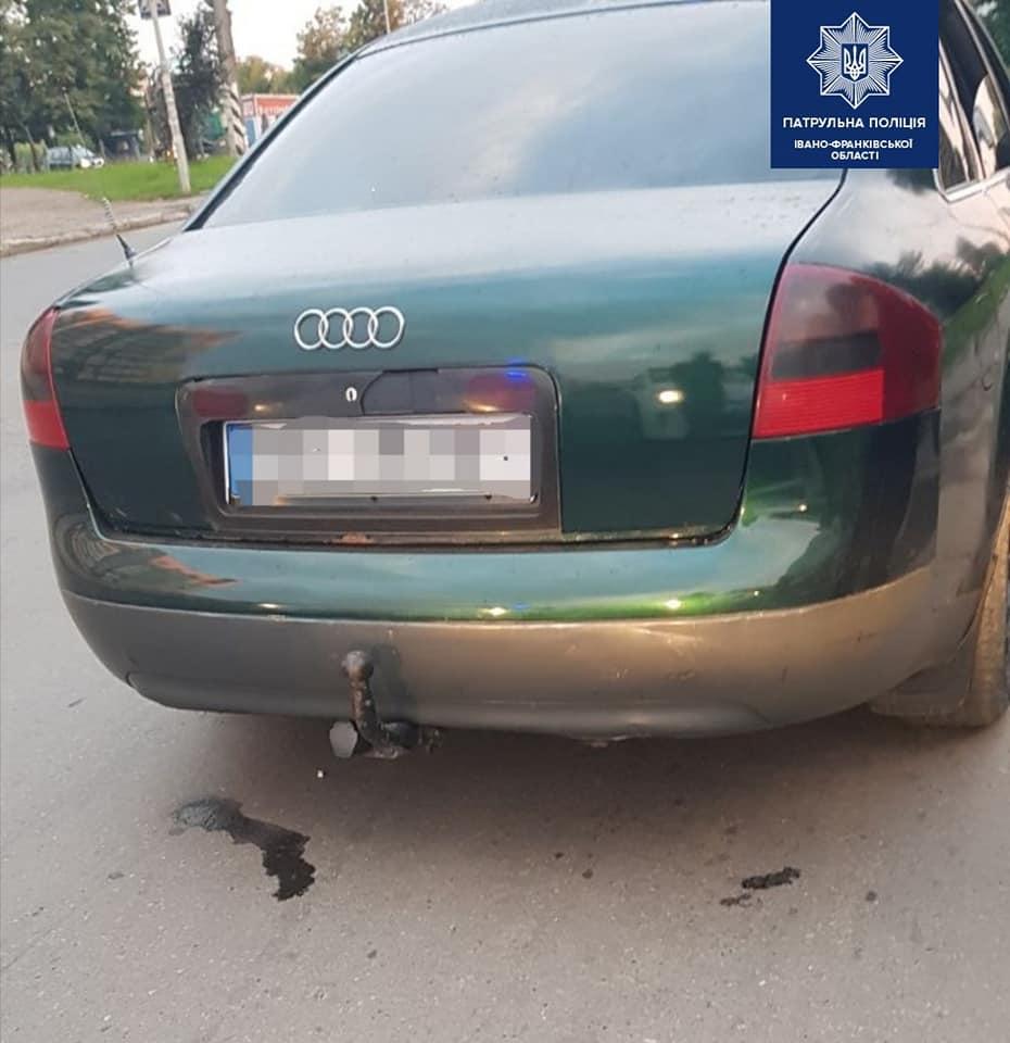 У Франківську водій-порушник намагався відкупитися від поліції за 200 гривень (ФОТО)