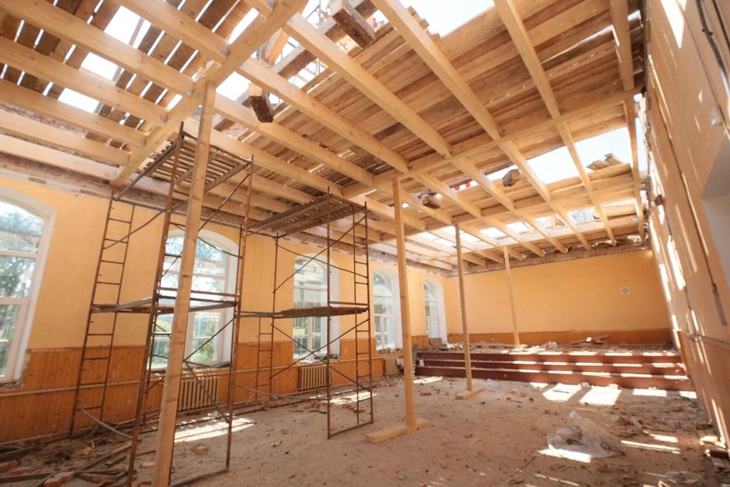 Городенківську школу капітально ремонтують вперше за понад 60 років (ФОТО)