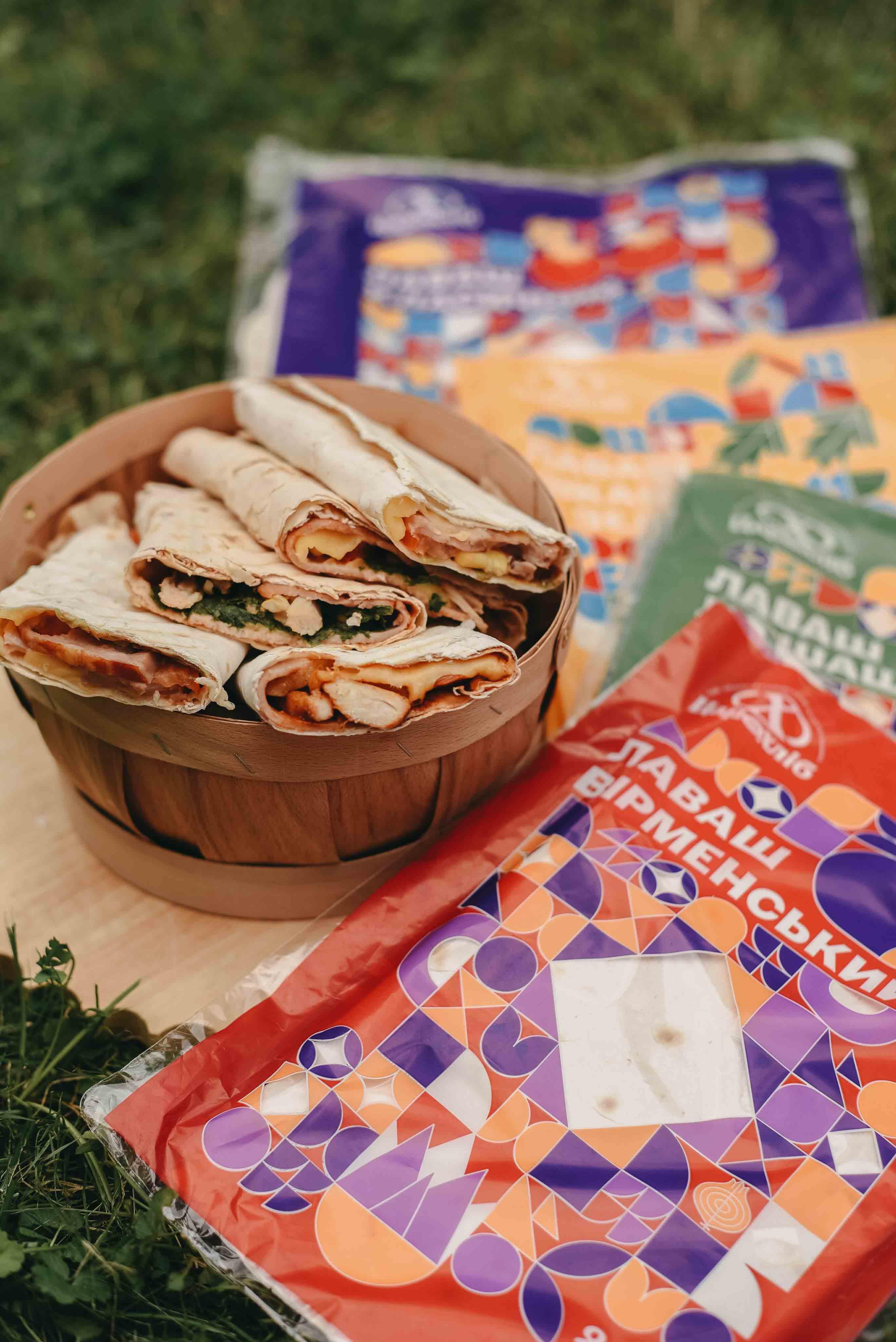 Гастрономічна новинка: смакуй літо з лавашами «Цар Хліб» (ФОТО)