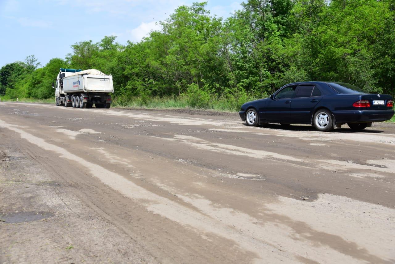 На Рогатинщині хочуть відремонтувати дорогу міжнародного значення (ФОТО)