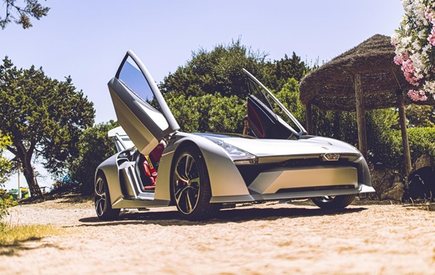 В Італії представили електроспорткар Bandini Dora (ФОТО)
